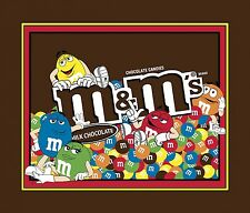 "Mars M & m Panel 100% cotton fabric by the panel 35"" X 43"""