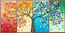 "NEW Cross Stitch Kits ""colorful tree"""
