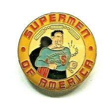 DC Comics Supermen Of America Enamel Pin - New (Superman Fan Club)