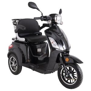 New 3 Wheeled ZT500 Black 900W REMOVABLE LITHIUM BATTERY LED Display-Green Power