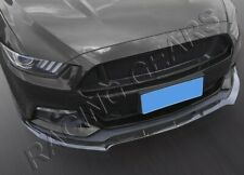 Fit 2015-2017 Ford Mustang Carbon Style Front Bumper Splitter Spoiler Lip 3Pcs