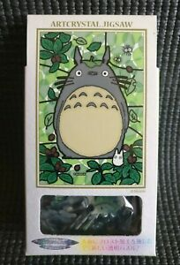Art Crystal MY NEIGHBOR TOTORO 126 Pcs Stained Glass Style Mini Jigsaw Puzzle
