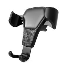Car Air Vent Mount Cradle Portable Universal GPS Leather Holders For Smart Phone