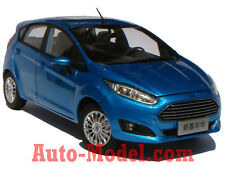 1:18 Changan Ford 2013 Fiesta S Candy Blue Dealer Edition