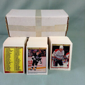1990-91 O-Pee-Chee Premier Hockey Cards U-Pick Stars Commons Rookies Near Mint