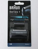 BRAUN Mens Shaver 11B Foil & Cutter Black Series 1 Replacement High Performance