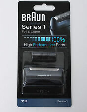 10Pcs BRAUN Mens Shaver 11B Foil & Cutter Series 1 High Performance Replacement