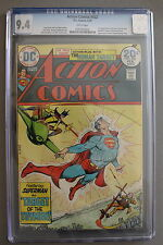 Action Comics #432 1st Bronze Age & new TOYMAN 1974 SUPERGIRL CBS TV CGC NM 9.4