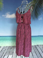 Regular Size Rayon Paisley Dresses for Women