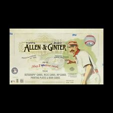 2020 Topps Allen & Ginter Factory Sealed HOBBY BOX FREE SHIPPING 3 HITS PER BOX