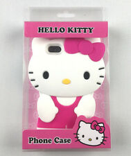cf8f5a7d0b51 3d Soft Sanrio Hello Kitty Sillicone Frame Case Cover for iPhone 5 Pink