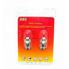 2  LAMPADINE 5 LED SMD 5050 T10 5W BIANCO CANBUS NO ERROR ACCESSORI AUTO TUNING