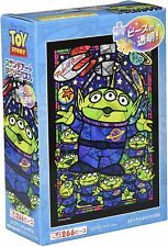 266 Piece Jigsaw Puzzle Toy Story Alien Stained Glass Tight Series Stained Art