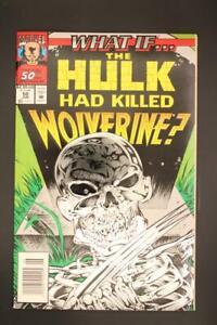 What If # 50 - NEAR MINT 9.4 NM - Avengers Hulk MARVEL Comics