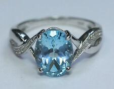 Topaz Birthday Oval Fine Gemstone Rings