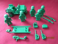 LEGO Toy Story Minifigures LOT . Green Army Men ,Jeep  5 figures ETC