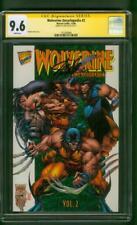 Wolverine Encyclopedia 2 CGC SS 9.6 Stan Lee signed Winn Moose Miki 2018 Movie