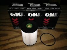 THREE(3) GKI GF9122 Fuel Filter LOT fits VW 1K0 127 434B 1K0127434B Fram C10448