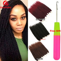 "22"" Ombre Crochet Braiding Hair Synthetic Senegalese Twsit Braids Hair Extension"