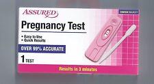 ASSURED PREGNANCY TEST 99% ACCURATE WOMEN & MEN TOO!