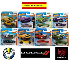 HOT WHEELS DODGE MUSCLE CARS CHARGER MUCHOS MODELOS EN BLISTER COCHES MINIATURAS