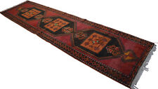 47 x 181 inches Kurdish Kilim Rug Hand Woven Large Runner - Long and Wide Runner