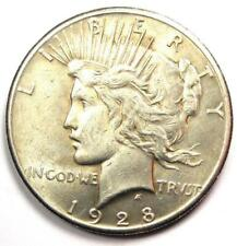 1928 Peace Silver Dollar $1 (1928-P) - Excellent Condition - Nice Luster - Rare!