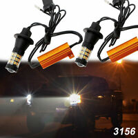 Kit For F-150 F-250 Convert To Switchback Turn Signal Daytime Running Canbus LED