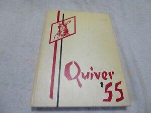 Pontiac Senior High School Quiver 1955 Year Book. Pontiac, MI.