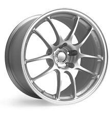 18x7.5/8.5 Enkei PF01 5x114.3 +38/35 Silver Rims Fits Honda S2000 AP2 All