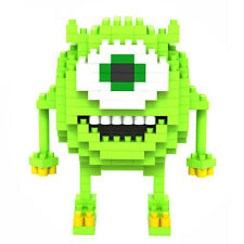 LOZ BLOCK MIKE monsters inc monsters university nanoblock nano building block