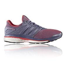 Chaussures violets adidas pour fitness, athlétisme et yoga