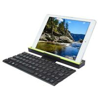 64-KEY Wireless Bluetooth Keyboard Connect 3 Devices w/Stand for Tablet/Phone