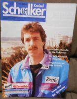 FC Schalke 04 Schalker Kreisel Magazin 27.02.1993 Bundesliga Derby Dortmund /315