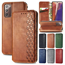 For Samsung Galaxy Note 20/20 Ultra 5G Leather Flip Card Wallet Stand Case Cover