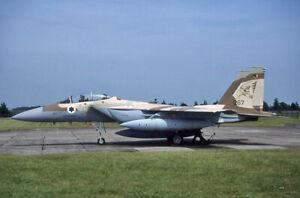Original aircraft slide IDF F15 267