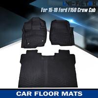 Freightliner Business Class M2-2PC Black Fit Carpet Floor Mats 2003 /& Up