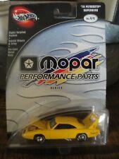 100% Hot Wheels 70 Plymouth Superbird. Yellow. Great Mopar Muscle Car HTF.