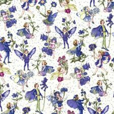 FABRIC FREEDOM FLOWER FAIRIES COLLECTION LEMON MATERIAL CRAFTS HALF METER