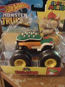 Mattel Monster Truck Hot Wheels Super Mario Bowser 1:64 Unwanted