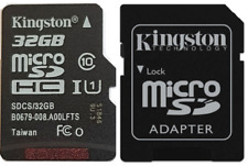 Kingston 32GB Micro SD Card 80MB/s Fit For Nintendo Switch DS DSi 3D 3DS XL Wii
