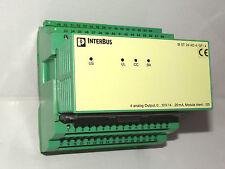 Phoenix CONTACT INTERBUS IB ST 24 AO 4/sf/4 4 analog output nr 2750578 Top