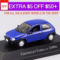 1/43 IXO CHEVROLET CORSA 1.0 (1994) Die Cast Car Model Rare Collection Blue
