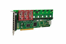 OpenVox A800P03 8 Port Analog PCI Base Card + 0 FXS + 3 FXO, Ethernet (RJ45)