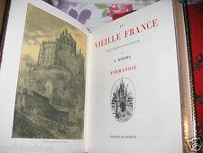 """""""La Vieille France"""" ROBIDA 5 Volumes Superb. illustrés Bien reliés 1992 Crémille"""