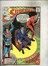 Superman #211-1968 vg+ Curt Swan Jack Abel Dave Wood