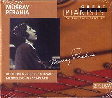 Murray PERAHIA: GREAT PIANISTS OF THE 20TH CENTURY 2CD Bartok Beethoven Brahms