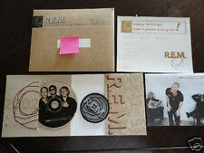 2002 R.E.M. REM Xmas Christmas Fan Club Single CD Complete Record Everything!
