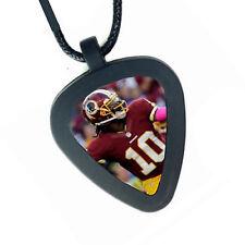 Washington Redskins RG3 Robert Griffin Pickbandz Real Guitar Pick Necklace