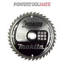 Makita B-09248 Cordless Circular Saw Blade 165mm X 40 Teeth 20mm